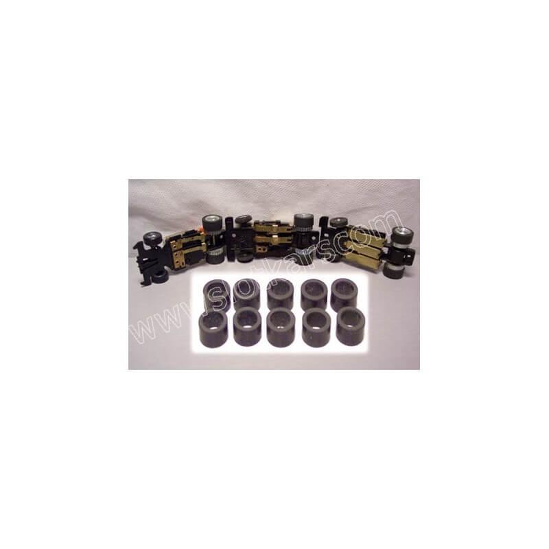 AMK1- 5 TCR 5 Paires pneus arrières pour chassis MK1 et MK2