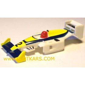 CA 017 Carrosserie TCR Williams  2 bleue/Jaune Neuve