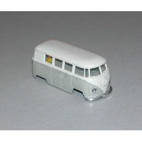 Faller 4843 vw combi gris carrosserie seule, neuf
