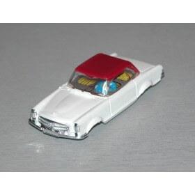Faller 4851 Mercedes 230 sl carrosserie seule, blanc htp rouge