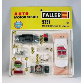 Faller 5351 Mercedes 280Sl + motor Kit New/Blister