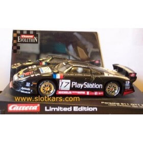 25405 Carrera Evolution Porsche 911 GT1 Evo Limited Playstation