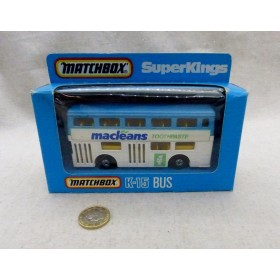 MATCHBOX K-15 BUS macleans...