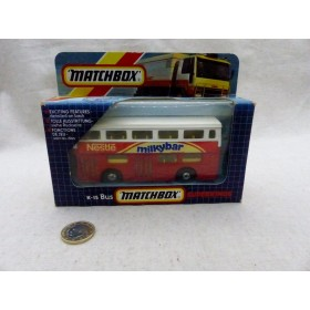 MATCHBOX K-15 BUS milkybar...