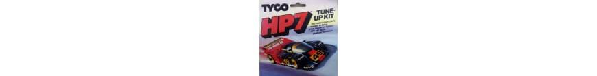 Voitures de circuit et pièces dérachées Tyco
