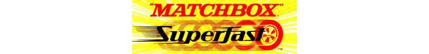 Voitures miniatures Matchbox Superfast de la période 1969 à 1982